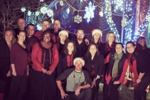 Lights, Carolers and Canned Goods! OH MY!