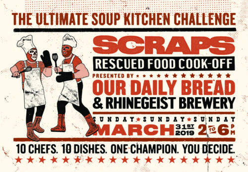 Scraps Rescued Food Cook-Off